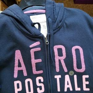 Ladies zip up hoodie